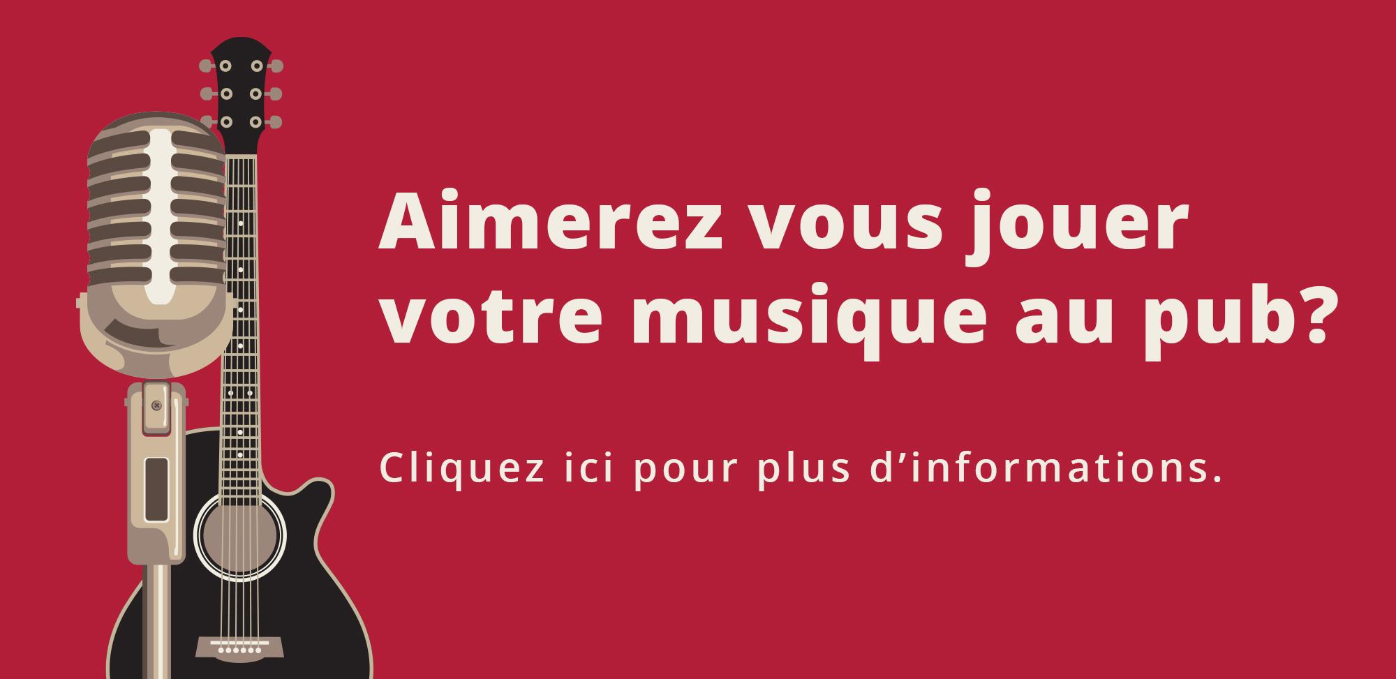 Musique Live Pub Montreal Chateauguay