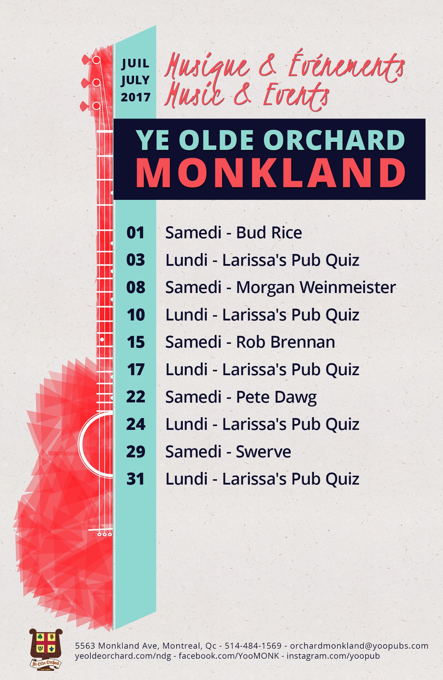 Musique Live Music Pub Quiz Local Bands
