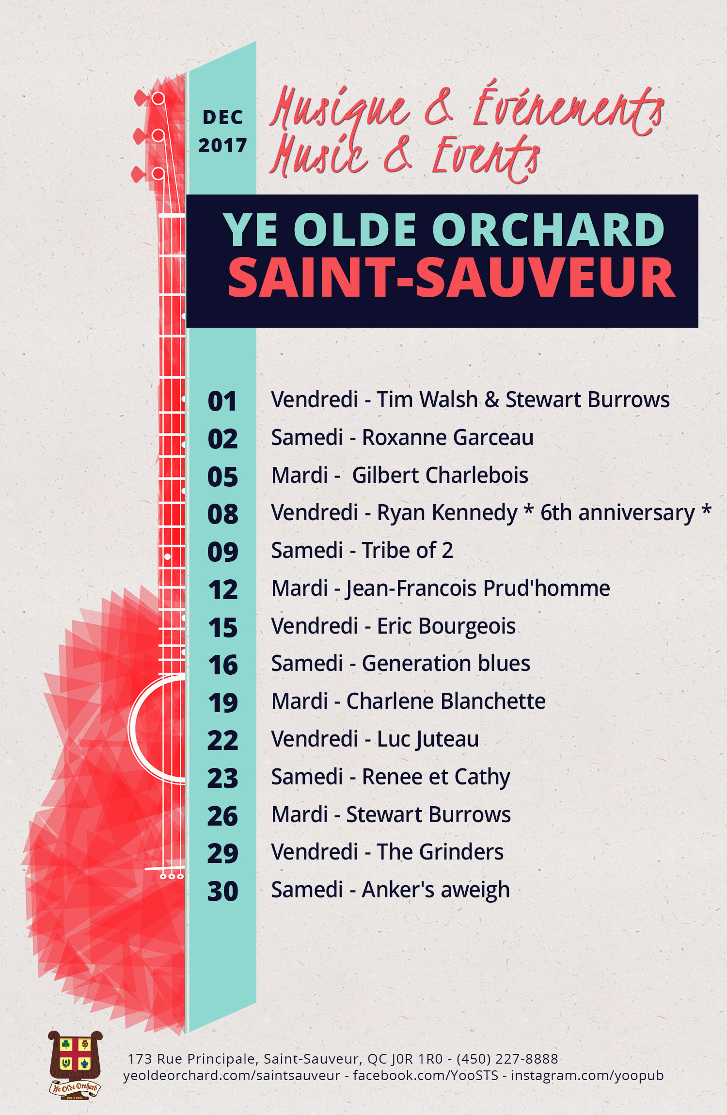 ye-olde-orchard-pub-music-and-events-calendar-SaintSauveur-DEC-PRINT