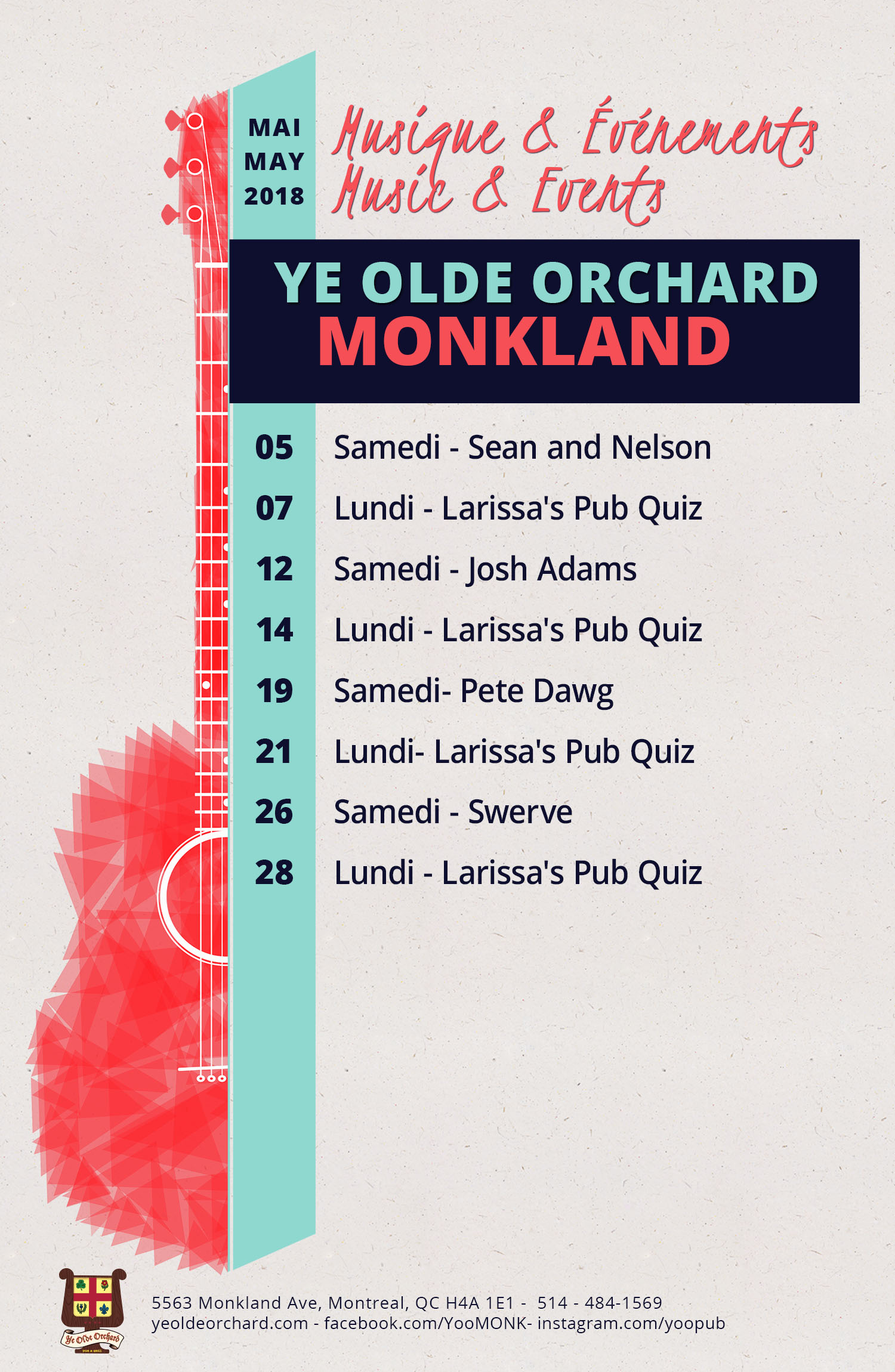 ye-olde-orchard-pub-music-and-events-calendar-Monkland-may-update