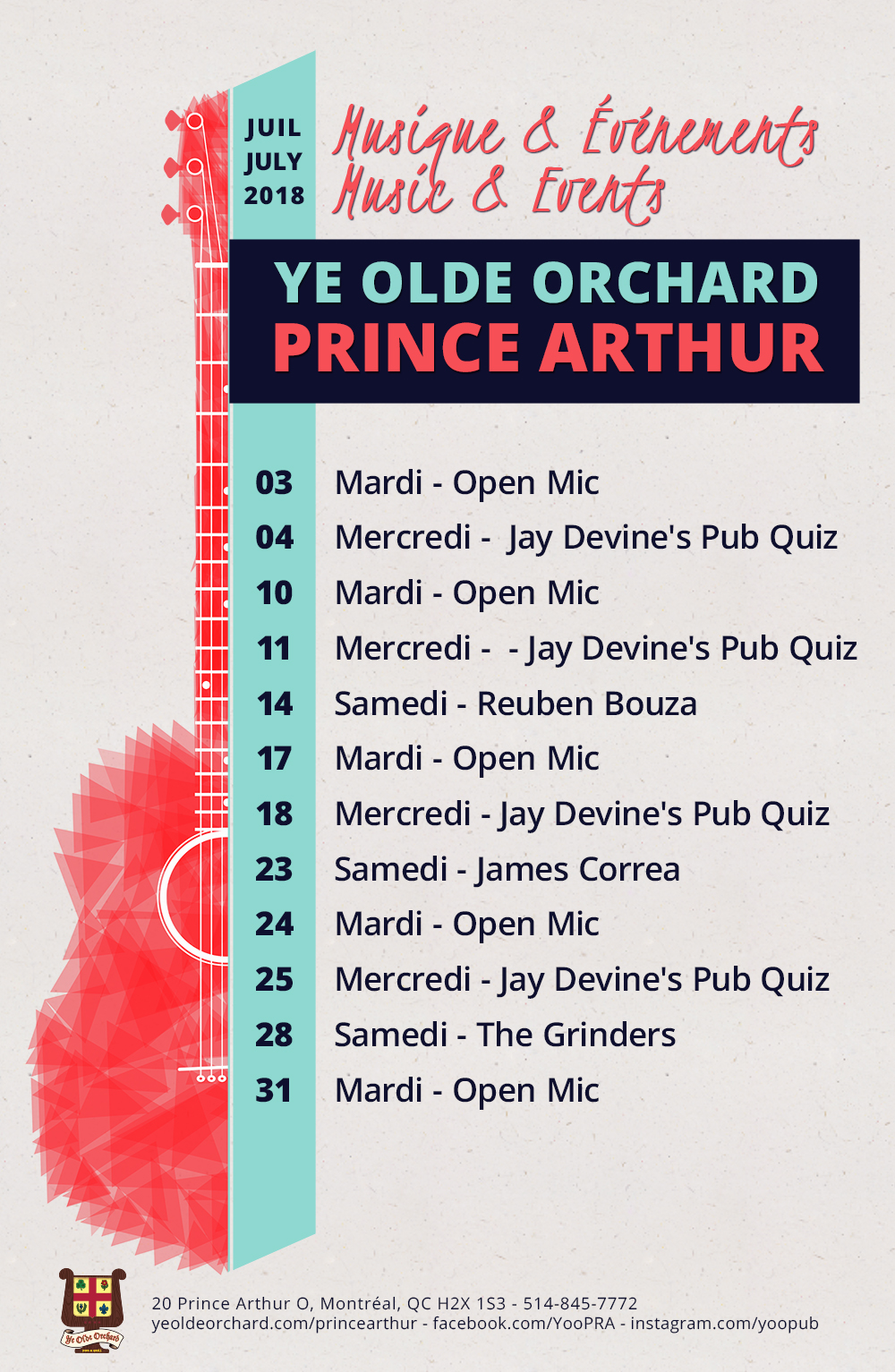 ye-olde-orchard-pub-music-and-events-calendar-prince-arthur-july-2018-WEB
