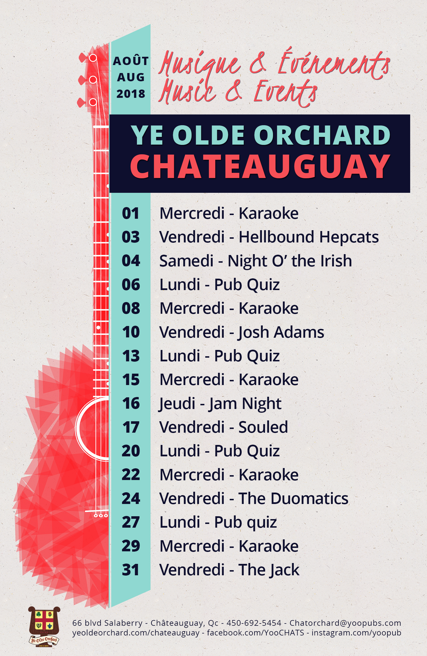 ye-olde-orchard-pub-music-and-events-calendar-chateauguay-august-2018-WEB