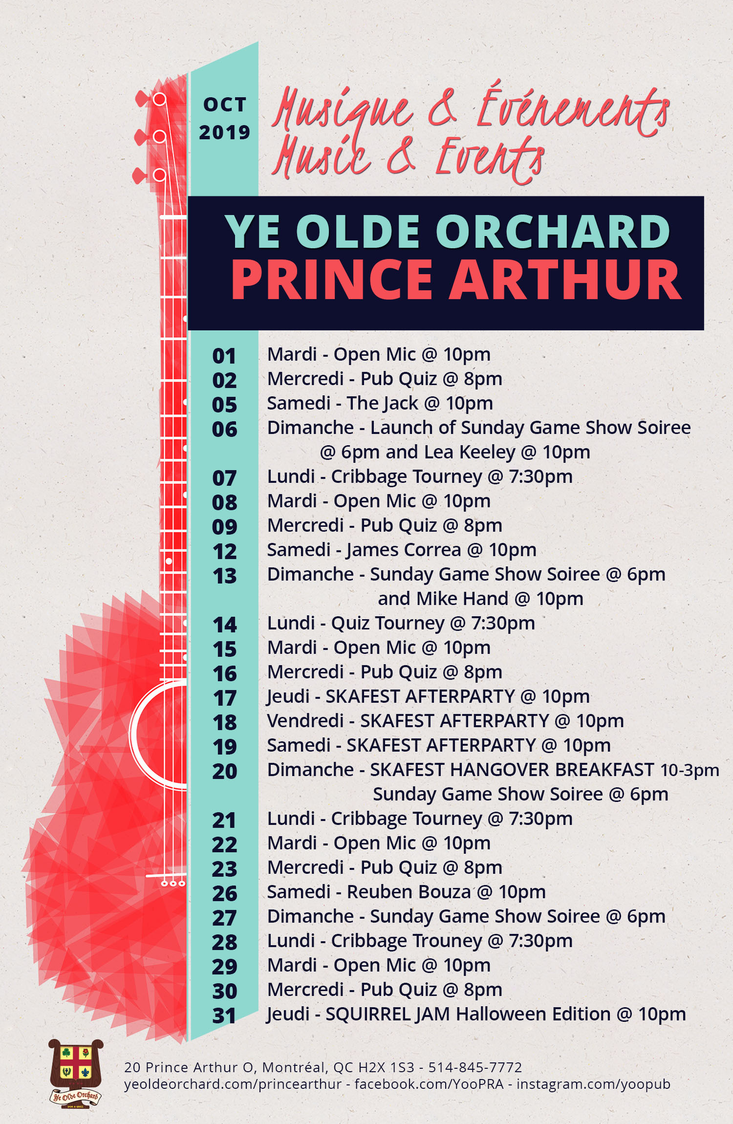 ye-olde-orchard-pub-music-and-events-calendar-prince-arthur-OCT-WEB